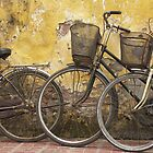Bicycles Vietnam by Louise Mackley