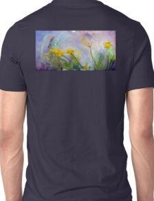 Bumble bee on flowers Unisex T-Shirt