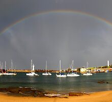 Rainbow Harbour by steen