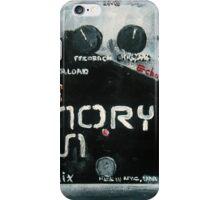 EHX Memory Man Deluxe iPhone Case/Skin