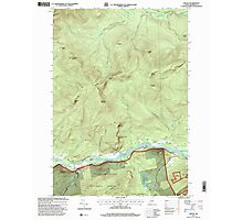 Maine USGS Historical Map Gilead 105159 1995 24000 Photographic Print
