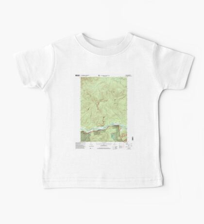 Maine USGS Historical Map Gilead 105159 1995 24000 Baby Tee