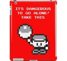 Take This! Red Version iPad Case/Skin