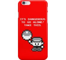 Take This! Red Version iPhone Case/Skin