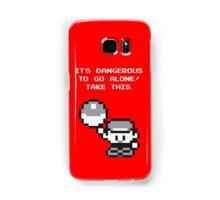 Take This! Red Version Samsung Galaxy Case/Skin