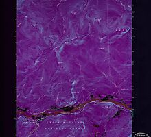 Maine USGS Historical Map Gilead 806718 1970 24000 Inversion by wetdryvac