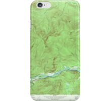 Maine USGS Historical Map Gilead 806718 1970 24000 iPhone Case/Skin