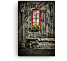 A Seat For One Canvas Print