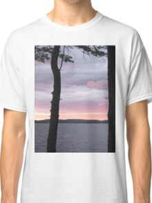 Sunset Over  Lake Catchacoma 3-Available As Art Prints-Mugs,Cases,Duvets,T Shirts,Stickers,etc Classic T-Shirt