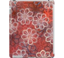 Blossoms 1 - Monoprint  Print and Ink  iPad Case/Skin