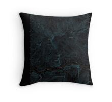 Maine USGS Historical Map Gilead 20120118 TM Inversion Throw Pillow