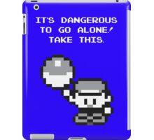 Take This! Blue Version iPad Case/Skin