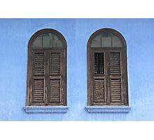 Penang Windows Photographic Print