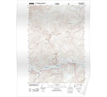 Maine USGS Historical Map Gilead 20120118 TM Poster