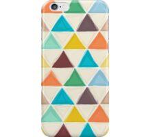 Portland triangles iPhone Case/Skin