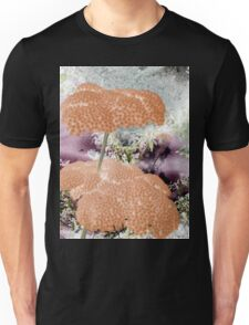 Peach Yarrow-Available As Art Prints-Mugs,Cases,Duvets,T Shirts,Stickers,etc, T-Shirt