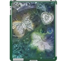 Solar Print and Tangled Butterflies  iPad Case/Skin