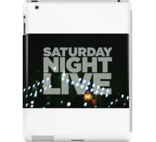 Saturday Night Live Shirt iPad Case/Skin