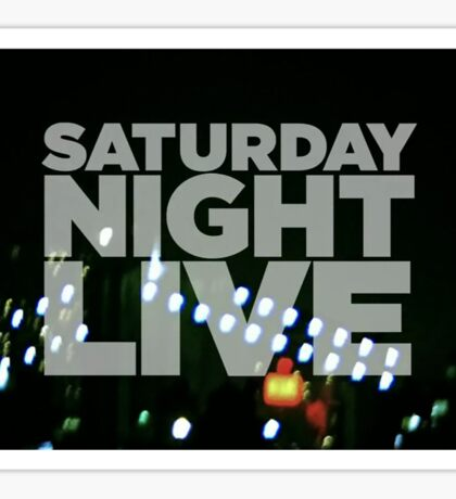 Saturday Night Live Shirt Sticker