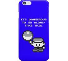 Take This! Blue Version iPhone Case/Skin