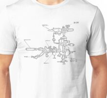 Detailed Template Unisex T-Shirt