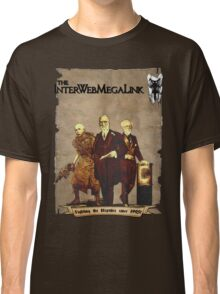 The InterWebMegaLink - Fighting the Reptiles since 1995! Classic T-Shirt