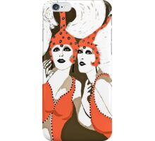 Flappers are Beautiful Women c 1920's iPhone Case/Skin