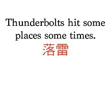 Thunderbolts by unclepablo