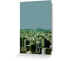seoul view Greeting Card
