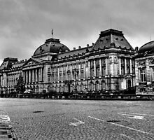 Palais Royal de Bruxelles by Vikram Franklin