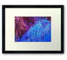 Blue Monet-Available As Art Prints-Mugs,Cases,Duvets,T Shirts,Stickers,etc Framed Print