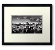 London's People Framed Print