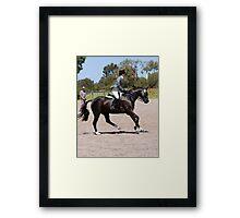 Equestrian Event Framed Print
