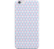 Pink and Blue Triangles iPhone Case/Skin