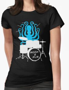 Octopus Rock! Womens Fitted T-Shirt