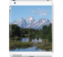 Grand Teton National Park Mountains iPad Case/Skin