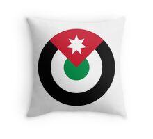 Roundel of the Royal Jordanian Air Force Throw Pillow