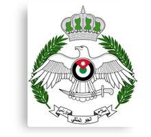 Royal Jordanian Air Force Emblem Canvas Print