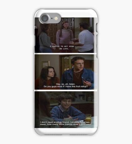 Freaks and Geeks Quote Shirt iPhone Case/Skin