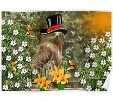 ~ MAYOR OLEA OWL ~ Poster