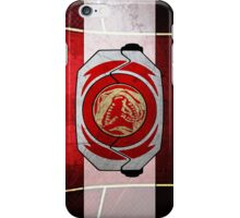 RedRanger iPhone Case/Skin