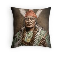 Rushing Eagle Throw Pillow