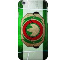 GreenRanger iPhone Case/Skin