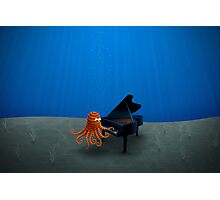 Pianist Photographic Print
