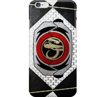 BlackRanger 2 iPhone Case/Skin