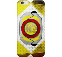YellowRanger 2 iPhone Case/Skin