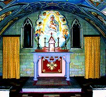 the Italian chapel Lamb Holm, Orkney by Terry Mooney