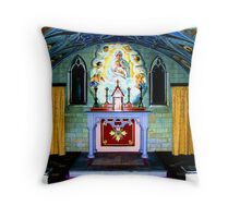 the Italian chapel Lamb Holm, Orkney Throw Pillow