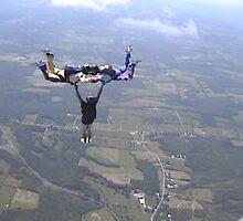 Hybrid jump At Duanesburg Skydiving. by svst