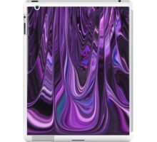 Ribbon Design Style in Purple and Violet Art  iPad Case/Skin